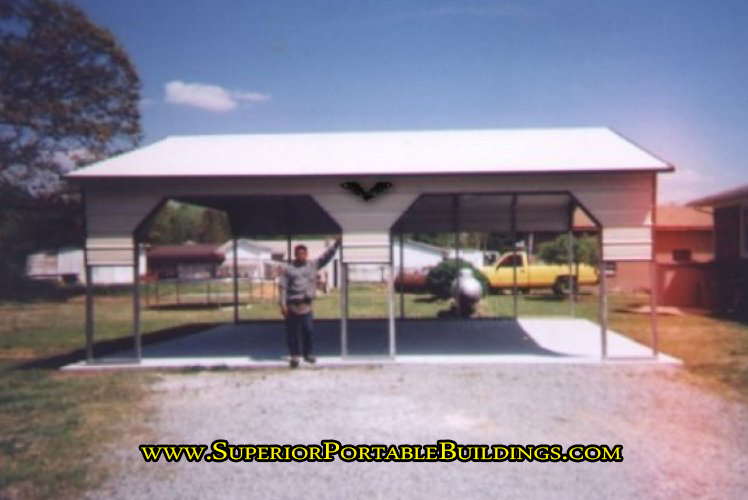 Side entry carports for sale.