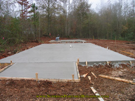 Concrete building slab 1
