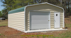 one-car-metal-garage