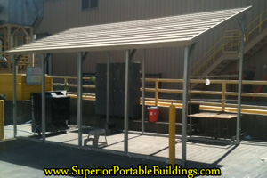 Superiors Free Standing Metal Awnings