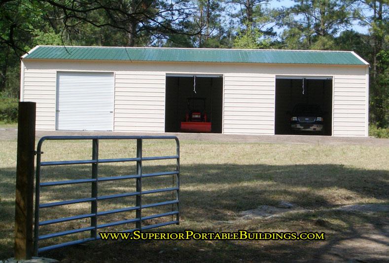 30 x 60 steel car garage vg 13 866 943 2264 for How wide is a 3 car garage