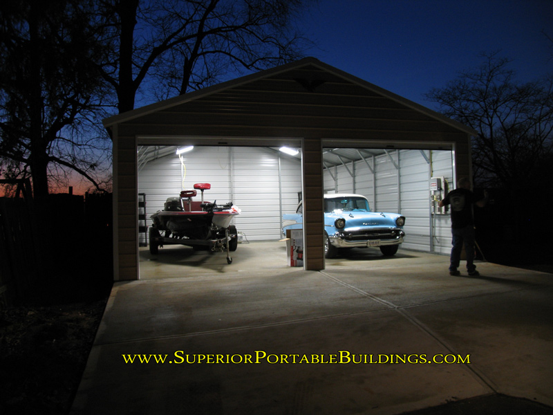 Steel garage 15 866 943 2264 for Garage 24x30